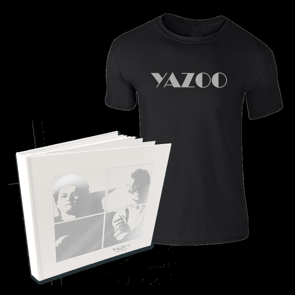 Buy Online Yazoo - Four Pieces: A Yazoo Compendium 4LP Vinyl + Black Tee