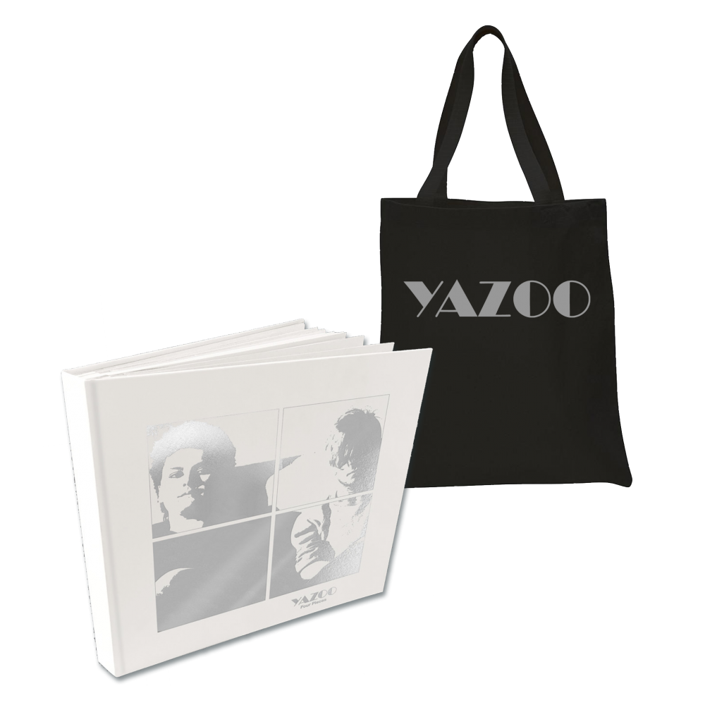 Buy Online Yazoo - Four Pieces: A Yazoo Compendium 4LP Vinyl + Black Tote Bag