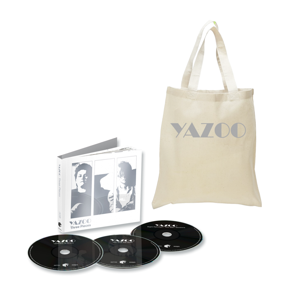 Buy Online Yazoo - Three Pieces: A Yazoo Compendium 3CD + Light Tote Bag