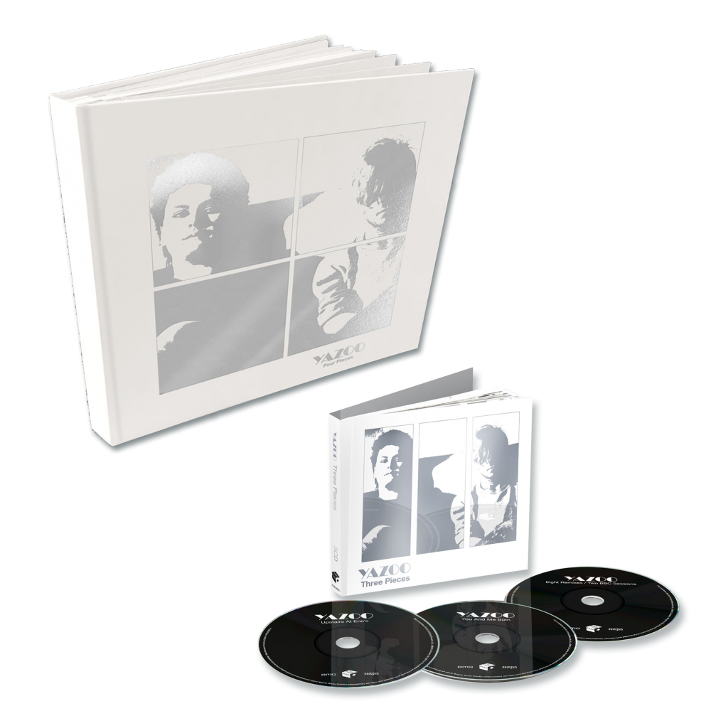 Buy Online Yazoo - Four Pieces: A Yazoo Compendium 4LP Vinyl + Three Pieces: A Yazoo Compendium 3CD