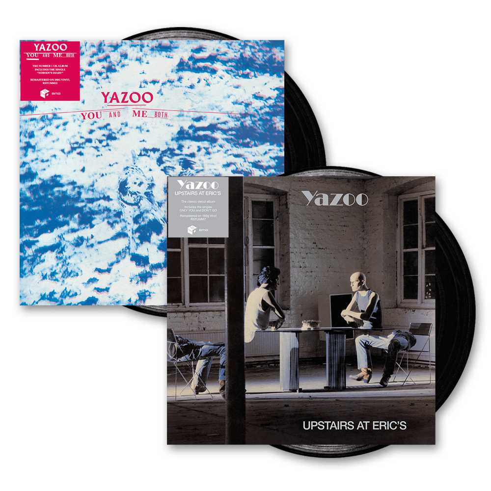 Buy Online Yazoo - Upstairs At Eric's + You And Me Both Heavyweight Vinyl Bundle