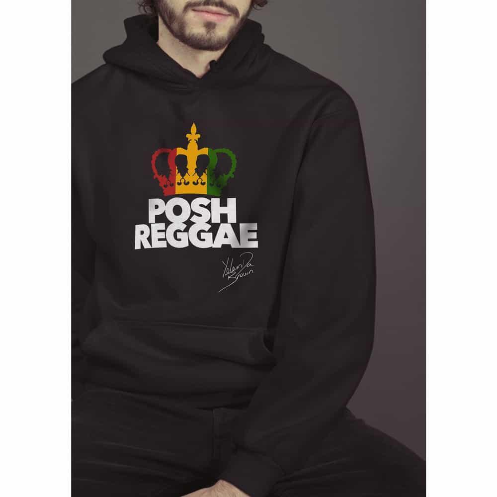 Buy Online YolanDa Brown - Posh Reggae Hoodie