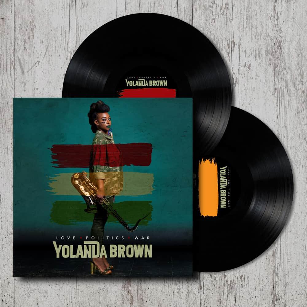 Buy Online YolanDa Brown - Love Politics War (Signed)