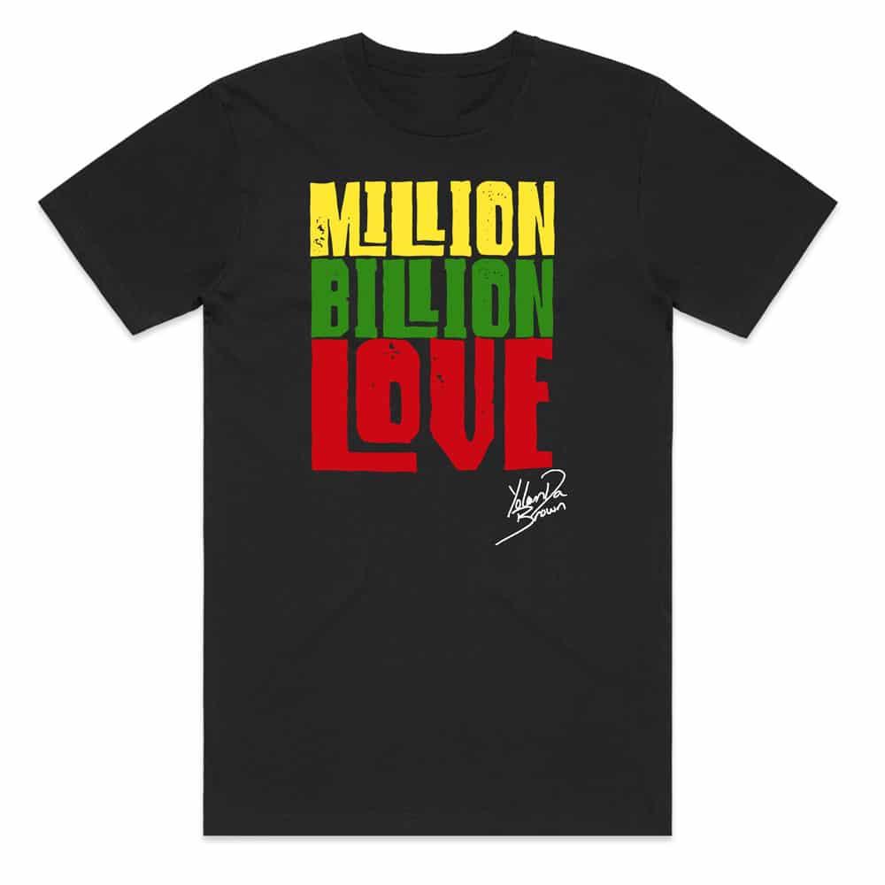 Buy Online YolanDa Brown - Million Billion Love Kids Tee