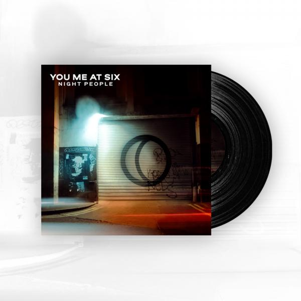 Buy Online You Me At Six - Night People 180g Heavy Gatefold Vinyl LP + Signed A4 Photograph