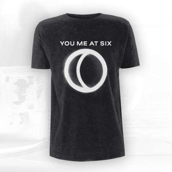Buy Online You Me At Six - Night People T-Shirt + Signed A4 Photograph