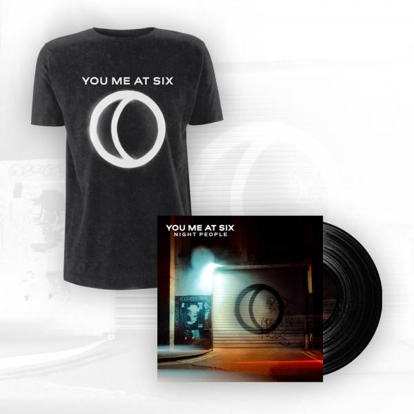 Buy Online You Me At Six - Night People Heavy Gatefold LP + T-Shirt