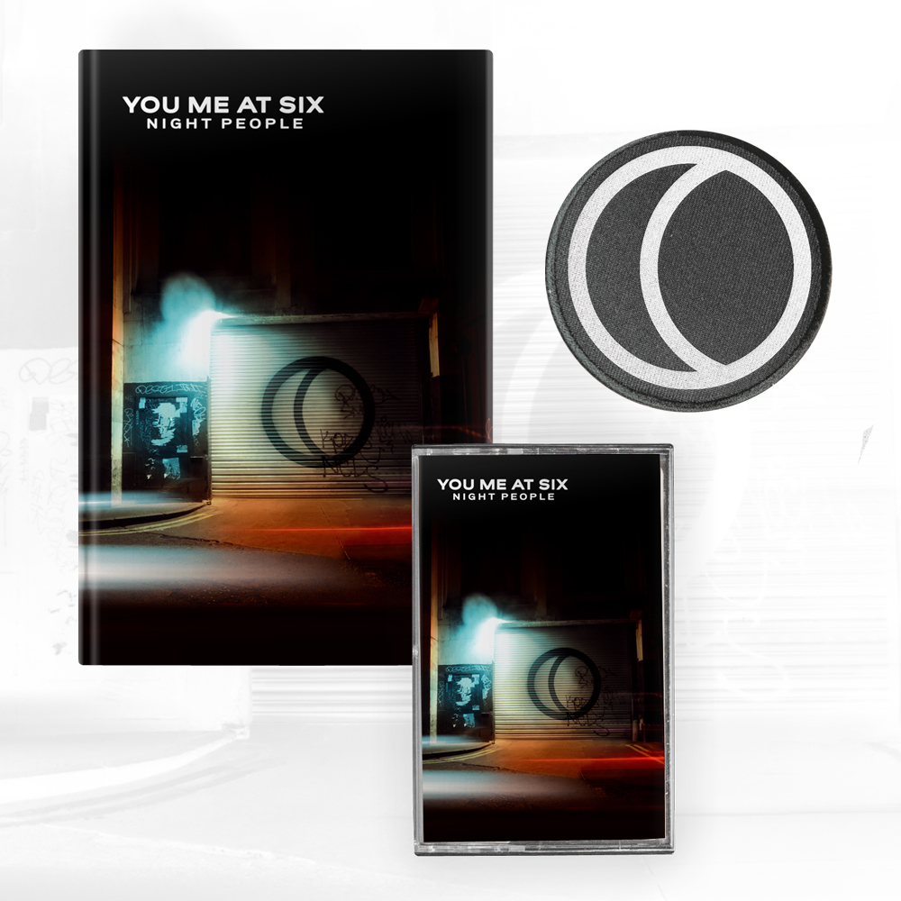 Buy Online You Me At Six - Night People Deluxe CD Book + Cassette + Black Patch + A4 Photograph