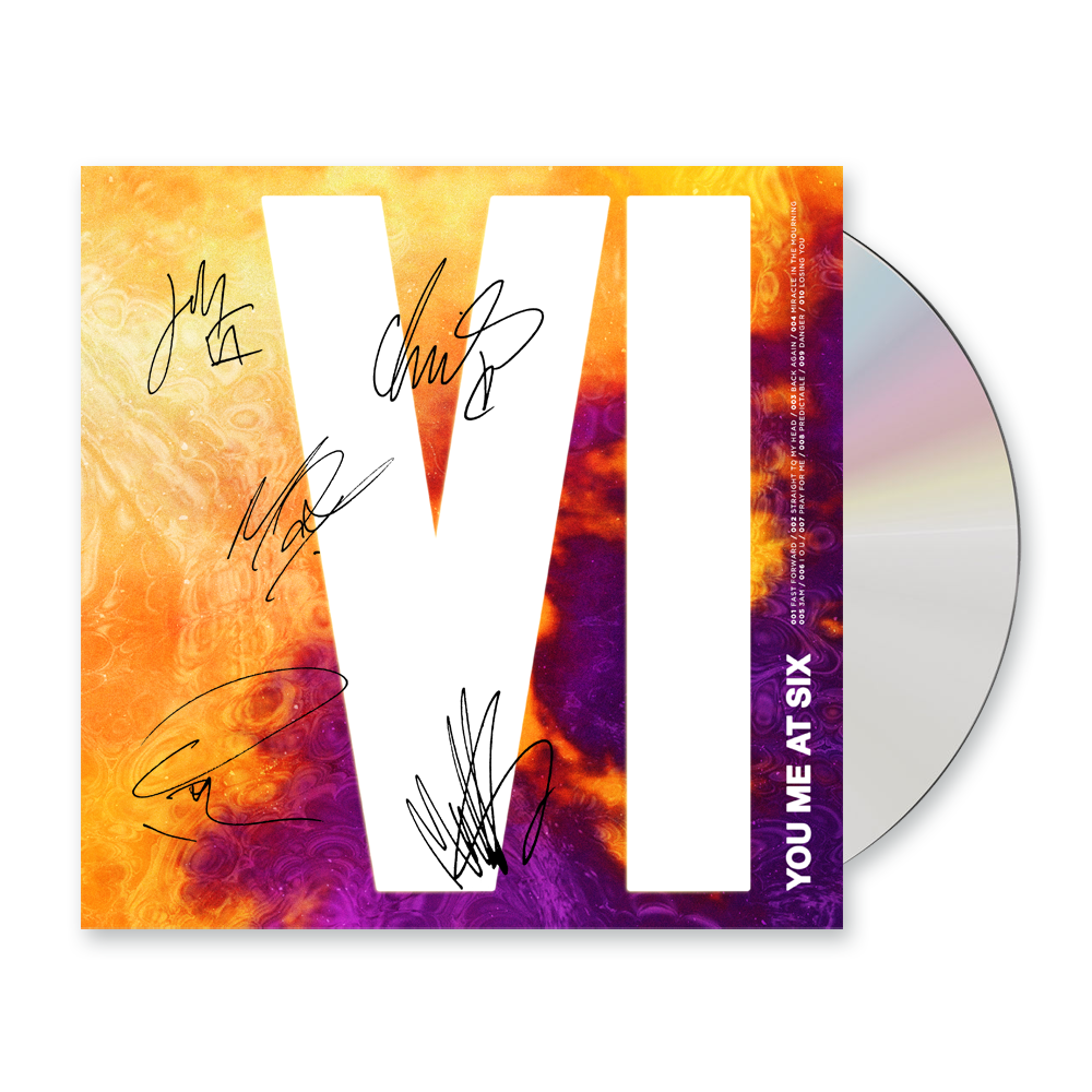 Buy Online You Me At Six - VI CD Album (Signed)
