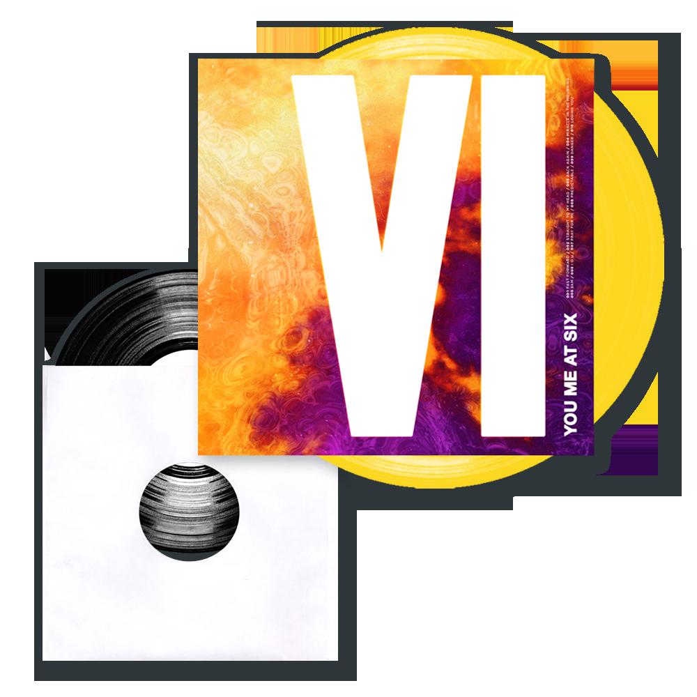 Buy Online You Me At Six - VI Coloured Vinyl LP (Exclusive) + Ltd Edition 7-Inch Vinyl