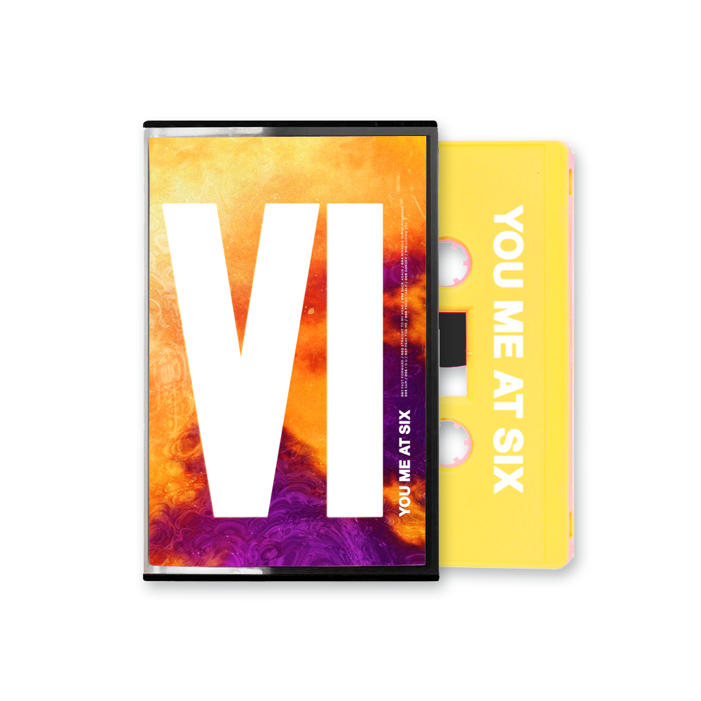Buy Online You Me At Six - VI Yellow Cassette