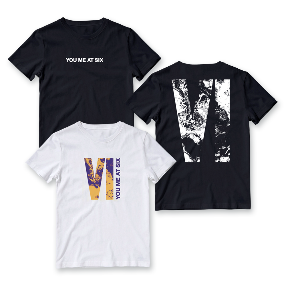 Buy Online You Me At Six - VI T-Shirt