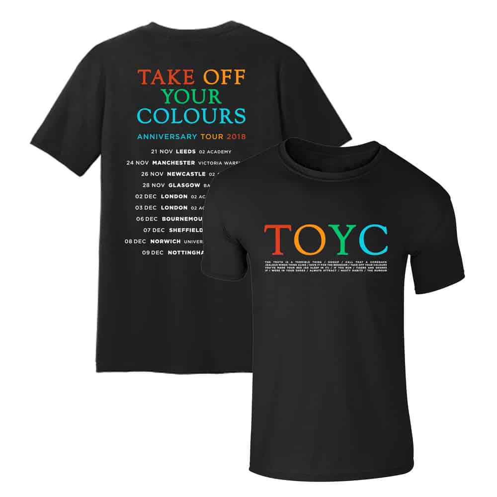 Buy Online You Me At Six - TOYC Tour T-Shirt