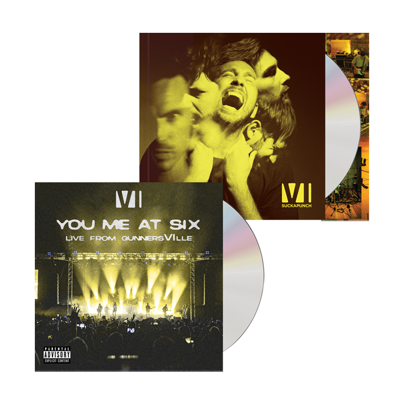 Buy Online You Me At Six - Suckapunch Deluxe CD/Book Album + Live CD (Exclusive)