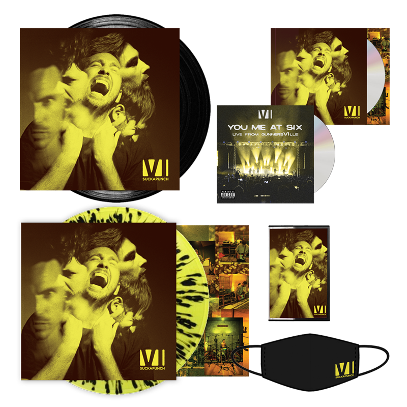 Buy Online You Me At Six - Super Suckapunch Bundle (Signed)
