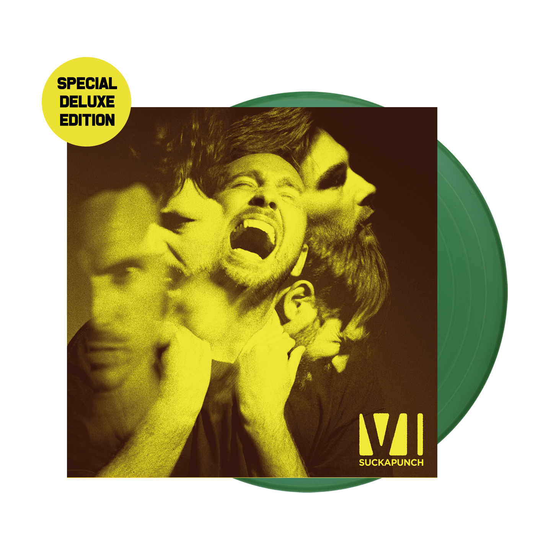 Buy Online You Me At Six - Suckapunch Special Deluxe Edition Green Vinyl