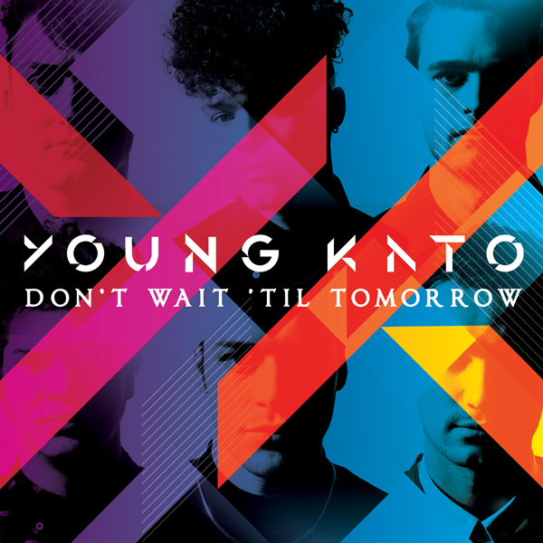 Buy Online Young Kato - Don't Wait 'Til Tomorrow (Signed CD & Signed/ numbered Art Poster Print)