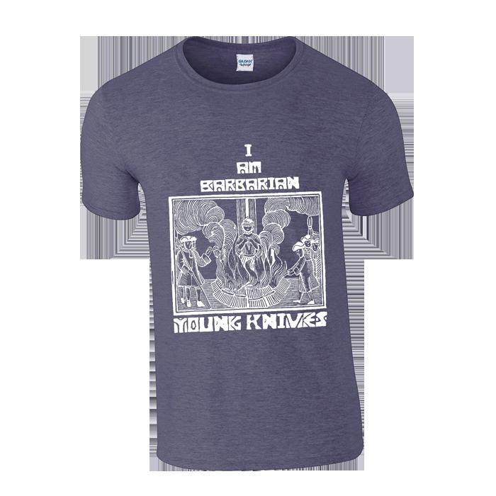 Full Barbarians Experience Hand Printed T-Shirt