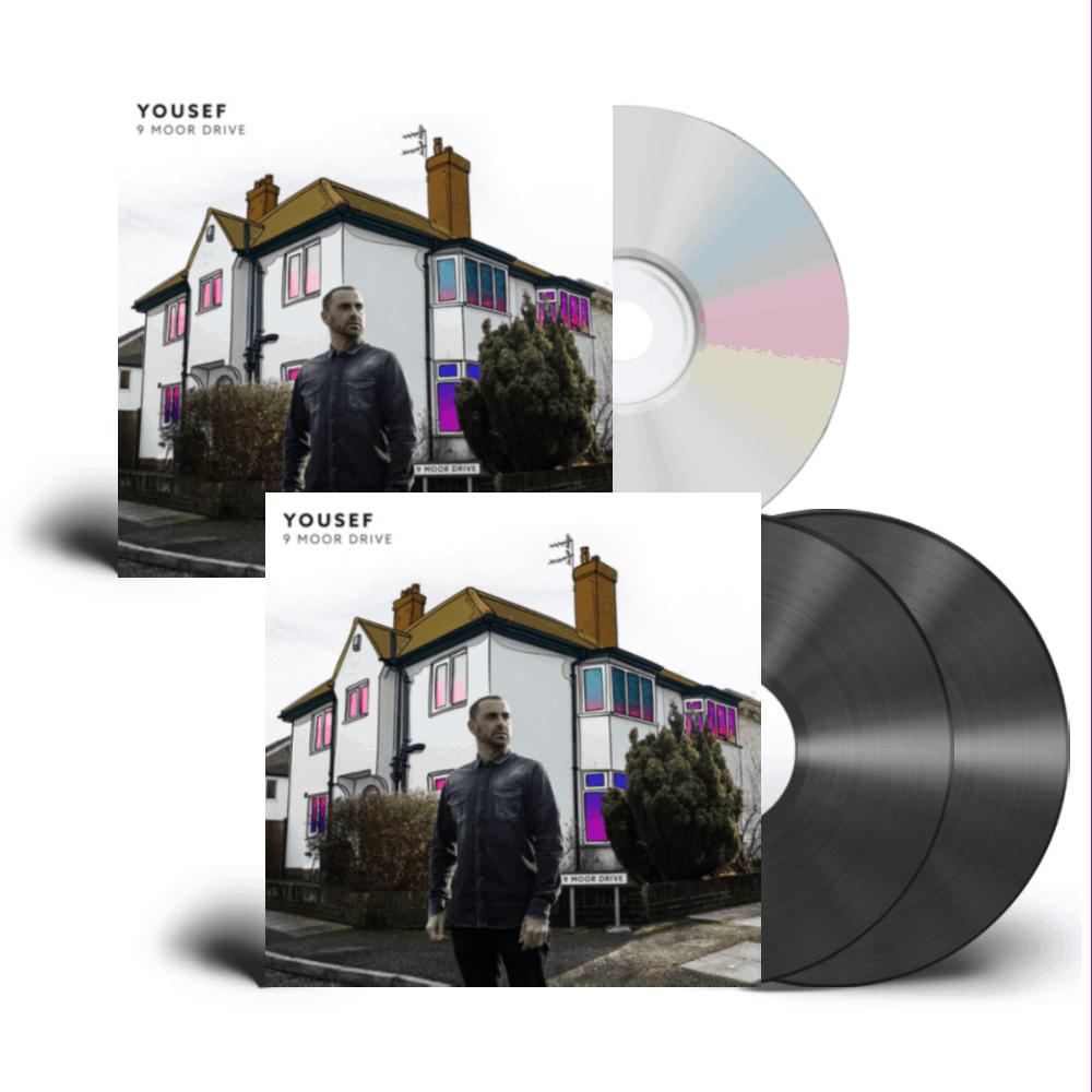 Buy Online Yousef - 9 Moor Drive CD + Vinyl