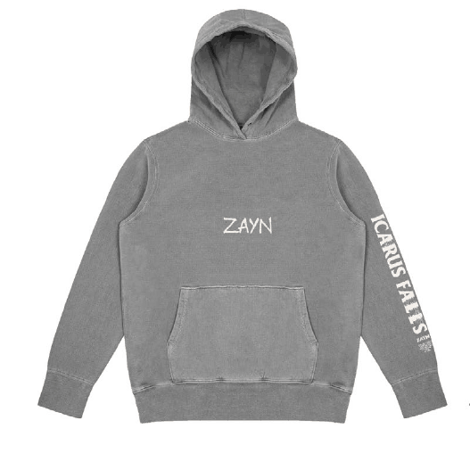 Buy Online Zayn Malik - Icarus Falls Washed Grey Hoodie